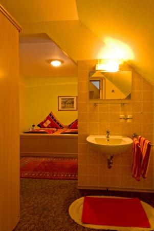 pension kamer met eigen douche en toilet