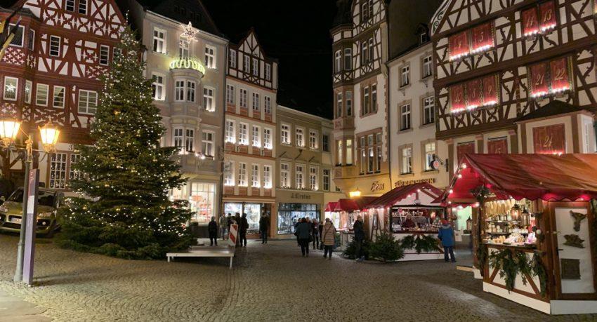 Kerstmarkt in Bernkastel