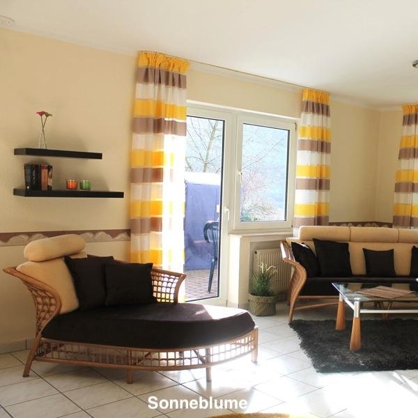 Cochem Haus Flora Sonnenblume