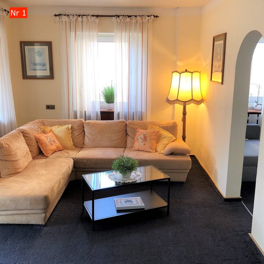 Hauslinde Wohnung 1 Wintergarten und Balkon