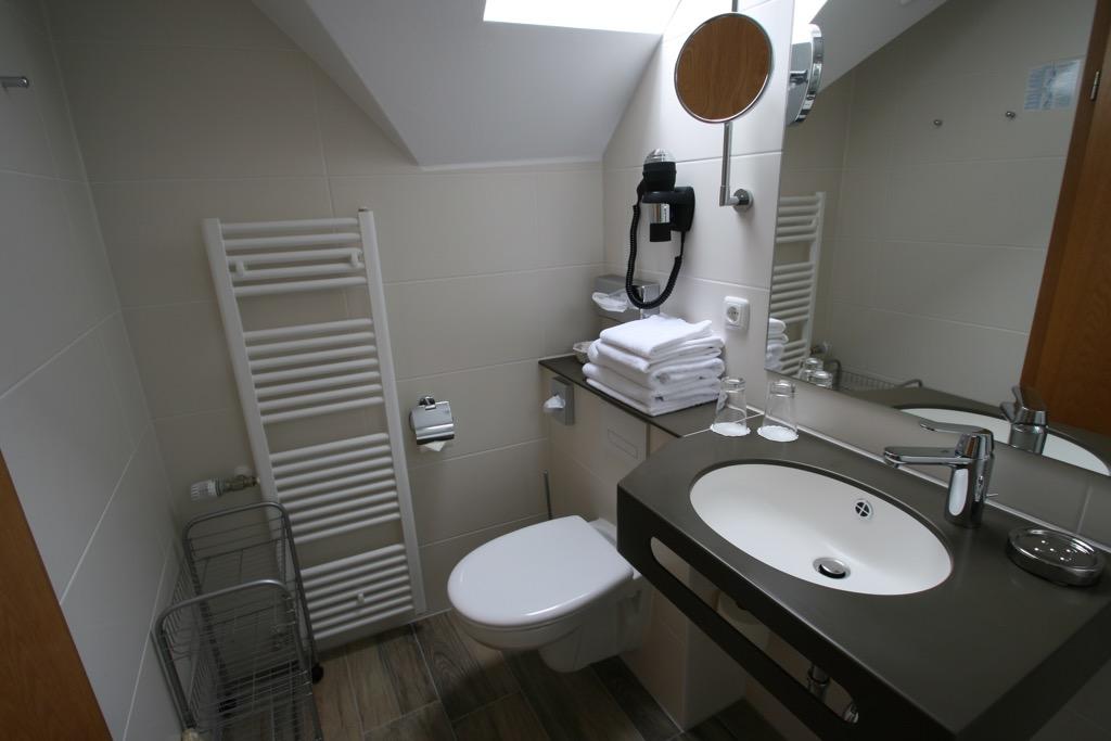 Badkamer nieuw hotel Berg