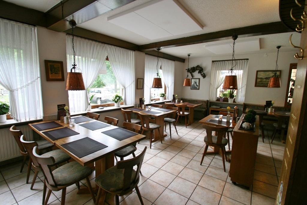 Restaurant in hotel Berg in Bremm