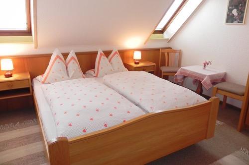 slaapkamer appartement berghof