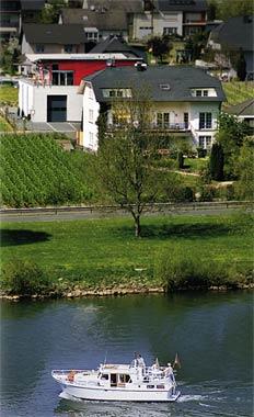 Bernd Hermes vakantiewoning in Kröv met Moezelzicht en balkon