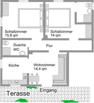 Vakantiewoning Königsberg in wijngoed Edmund Loewen in Detzem