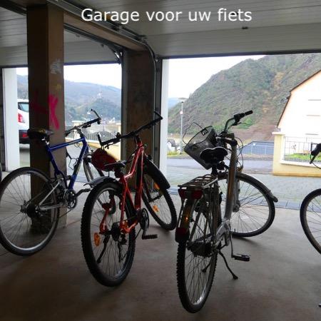 Vakantiehuis Scheuer fietsgarage