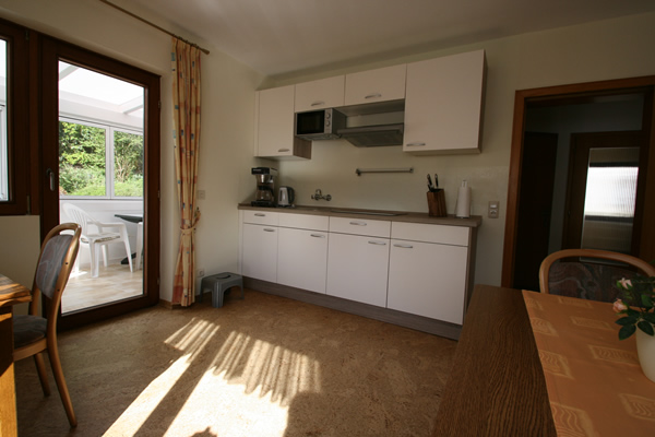 Keuken vakantiewoning Geller in Bernkastel-Kues