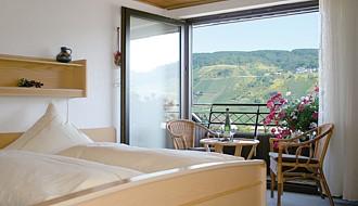 Uitzicht vakantiewoning Geller in Bernkastel