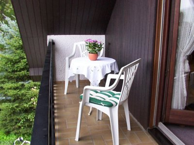 vakantiewoning met balkon Heil Lieser