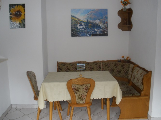 Bremm - keuken vakantiewoning Heimes