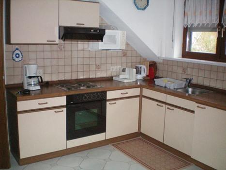 volledig ingerichte keuken vakantiewoning Heimes