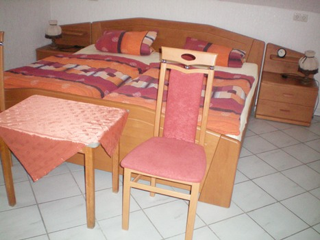 1 van de 3 slaapkamers in vakantiewoning Heimes