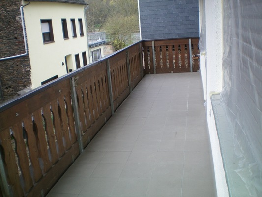 balkon Gästehaus Arens-Hirschen in Mesenich