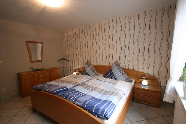 Slaapkamer vakantiewoning Ketter in Neef