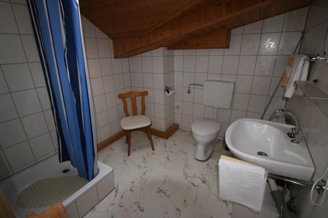 badkamer vakantiewoning Ellenz-Poltersdorf