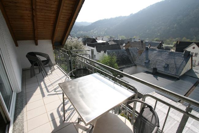 balkon vakantiewoning koenen-Klaus