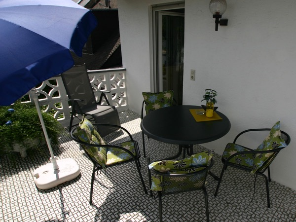 vakantiewoning kreutz balkon
