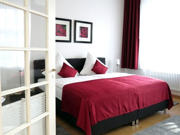 Slaapkamer vakantiewoning Loge 1 Zell