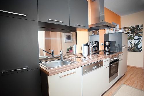 Keuken vakantiewoning Mesenich in Zell