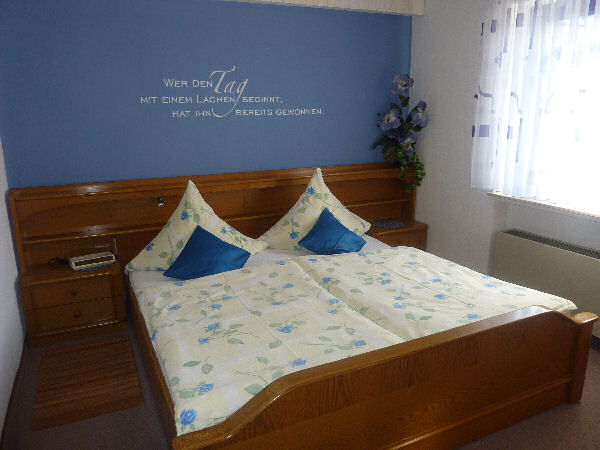 slaapkamer vakantiewoning Mönch