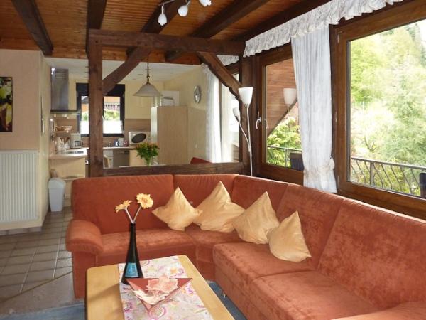 vakantiewoning Mönch met Moezelzicht en balkon