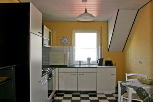 keuken vakantiewoning Dongowski in Zell