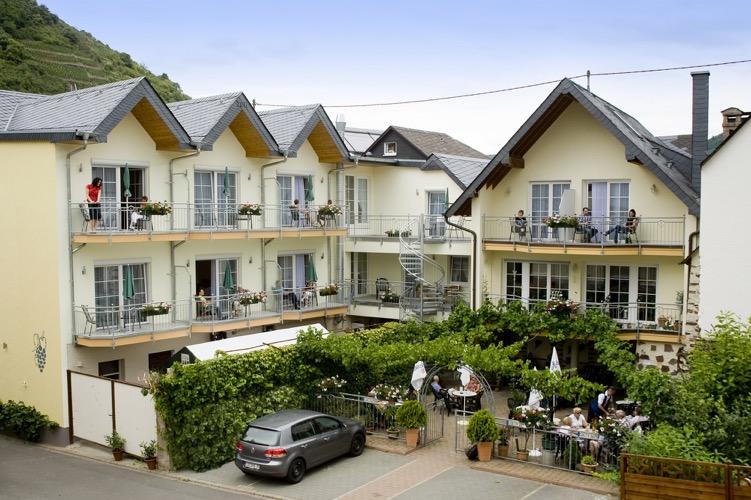 hotel moselstrand balkons