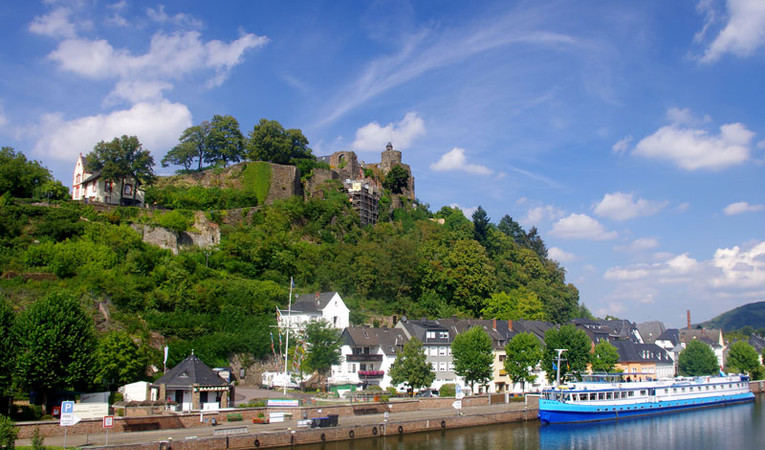 Fiets-vaar-vakantie van Saarburg naar Koblenz
