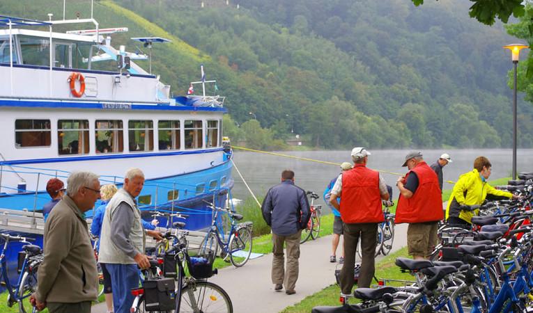 Fiets-vaar-vakantie van Koblenz naar Saarburg