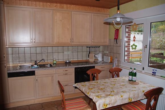 Vakantiehuis Mühl keuken