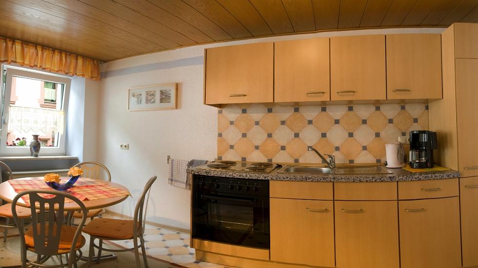 keuken haus notenau vakantiewoning balduin in zell