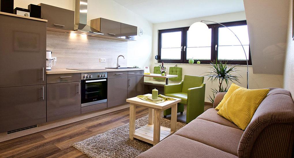 Keuken vakantiewoning in Weingut Paulushof in Pünderich