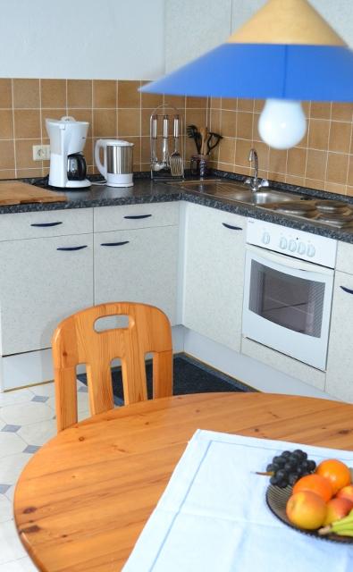 keuken vakantiehuis Moezel