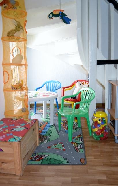 speelhoek kinderen vakantiehuis