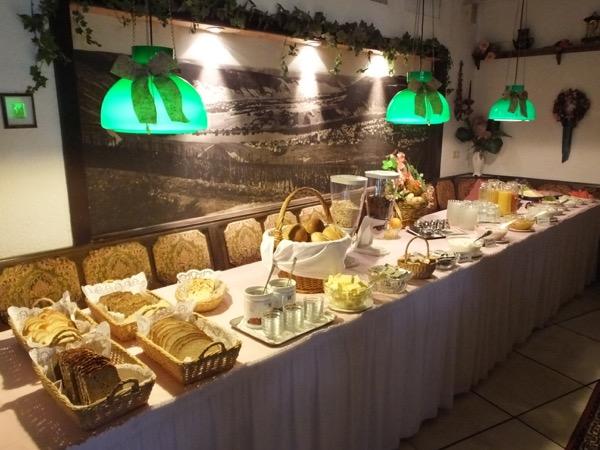 Hotel Ratskeller ontbijtbuffet
