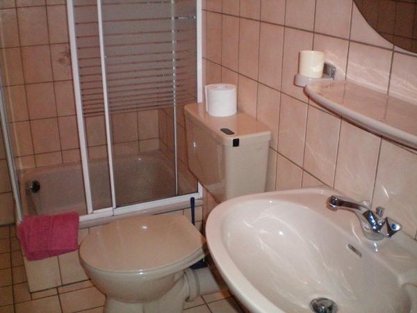 douche hotel Rauchfang Leiwen