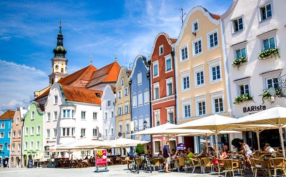 Donau-fietstocht van Passau naar Wenen