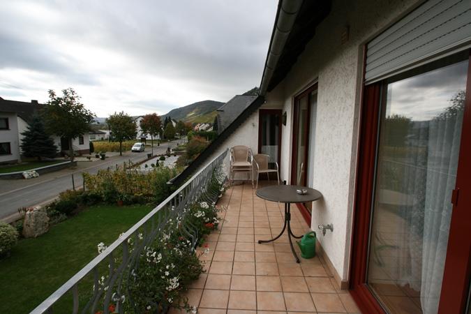 Balkon vakantiewoning selbach-erz