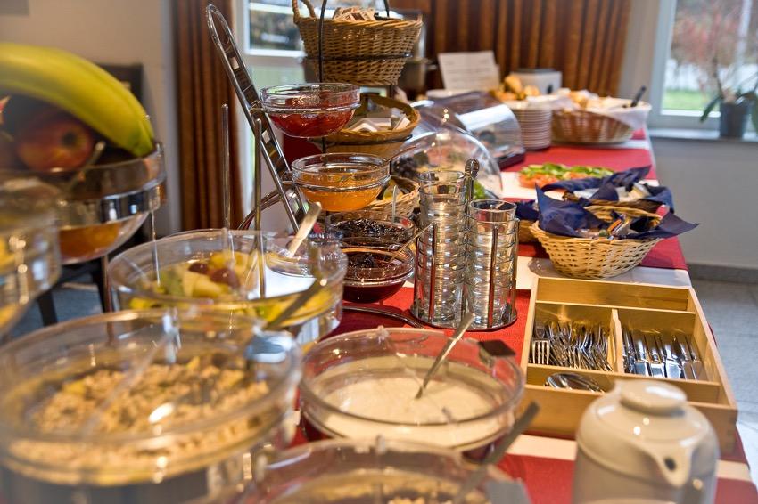 ontbijtbuffet Stadtwaldhotel hotel Trier