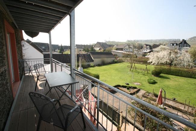 balkon vakantiewoning Steffen-Herzog