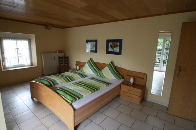 ruime slaapkamer vakantiewoning