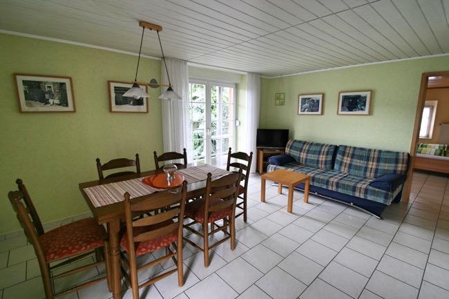 woonkamer vakantiewoning osann-monzel