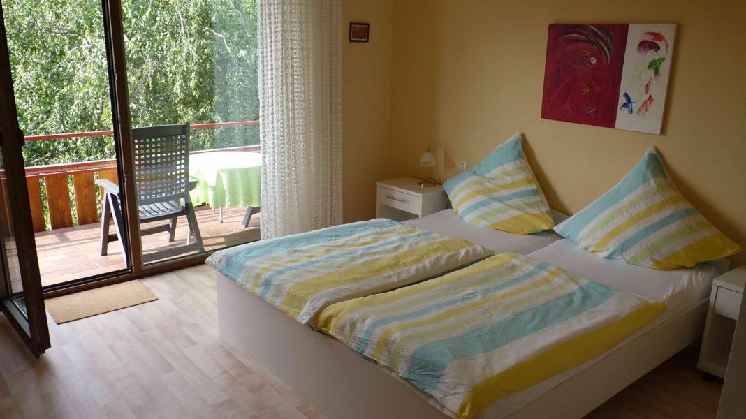 kamer met balkon GH Thomas in Leiwen