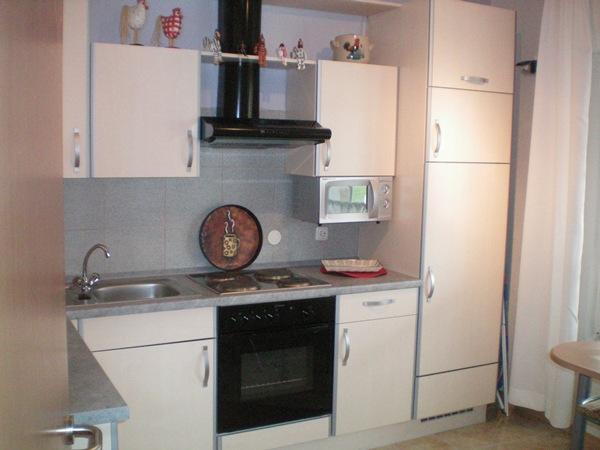 Keuken appartement weiss