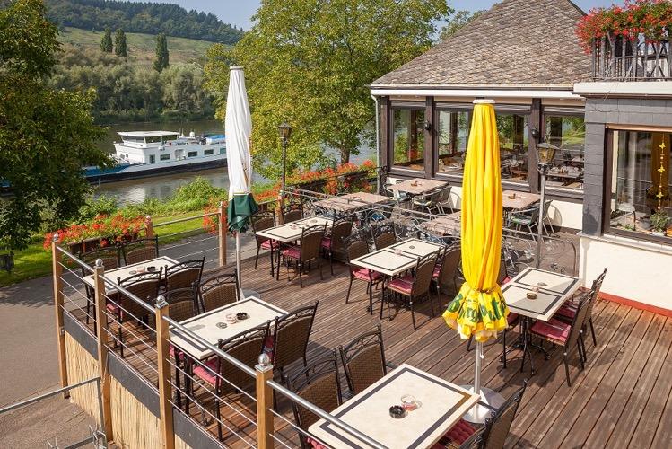 Hotel Zum Anker in Detzem aan de Moezel