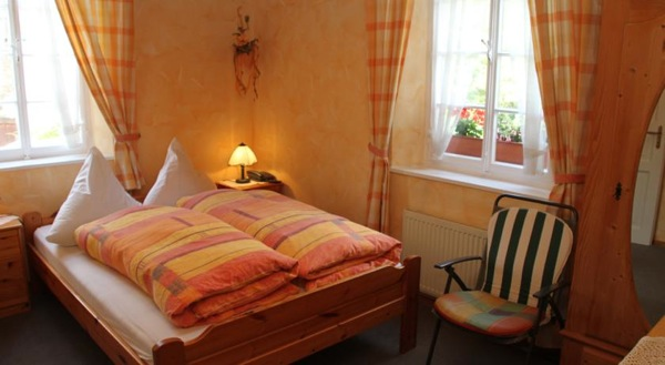 hotelkamer in hotel Zum-Treppchen met Moezelzicht