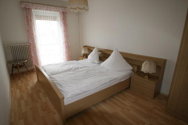 1 van de slaapkamers in de vakantiewoning