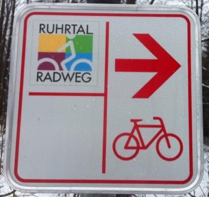 Bord Ruhrtalradweg