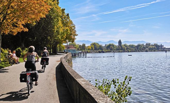 Fietsvakantie Bodensee