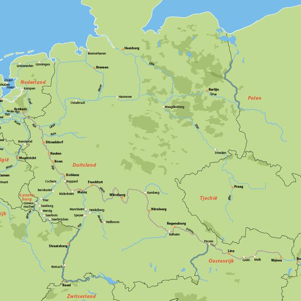 Cruise Arnhem via Passau naar Wenen